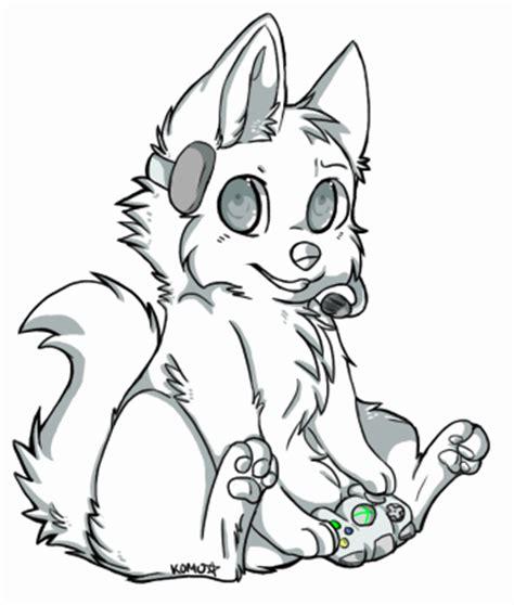 pin chibi wolf template wip sketchfu on pinterest