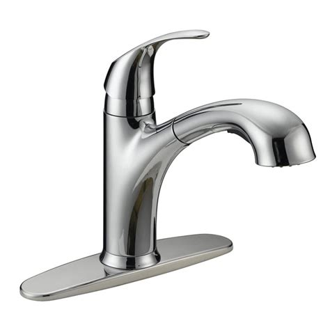 one kitchen faucets flo faucets 8644759 one handle pull out kitchen