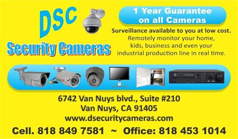 Security Systems Business Card Template by Duran Business Card Pg2 From Duran Security Cameras In
