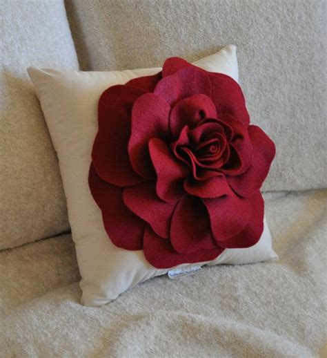 Felt Flower Pillow by 17 Best Ideas About Felt Pillow On Felt Cushion Felt Flower Pillow And Felt