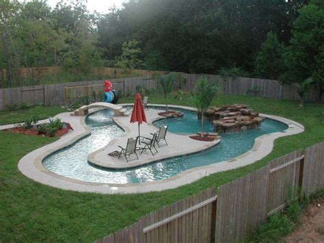 yes your own personal lazy river in your