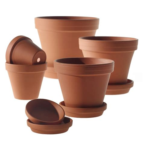 clay pot accent decor