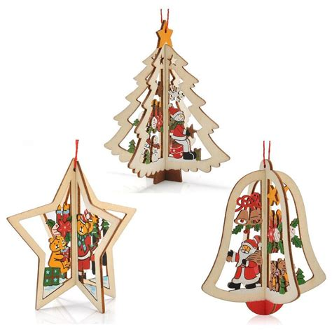 online get cheap wood ornaments christmas aliexpress com