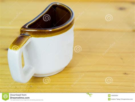Half A Cup Of Coffee Stock Photo   Image: 45692664