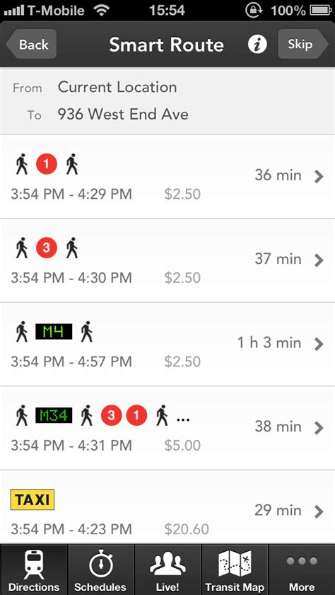 Hopstop Subway Directions Now Available For Your Phone by Hopstop Transit Directions For Iphone App Insight