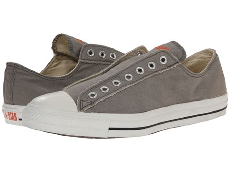 Converse Chuck All Slip Sneakers Hijau converse chuck all 1x841 unisex grey slip on sneaker ebay