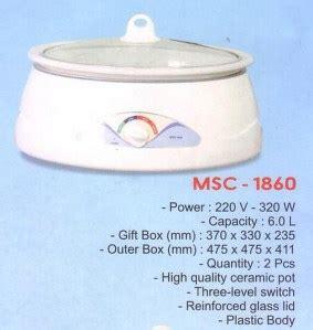 Steamer Rice Cooker Maspion 24 Cm maspion cooker msc 1860 cooker murah alat