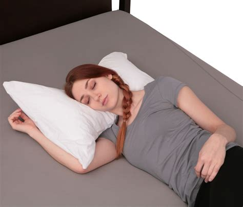 White Bed Rest Pillow by Bow Tie Pillow Standard Size White