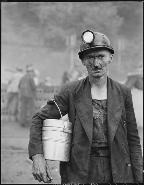 Miner L by File Harry Fain Coal Loader Inland Steel Company