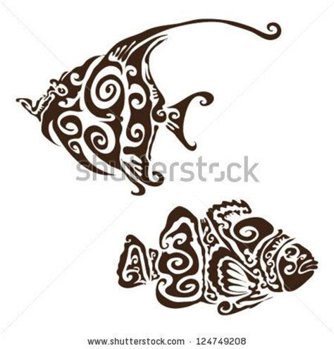 tropical fish tattoo designs tribal koi fish designs try skillfeed new