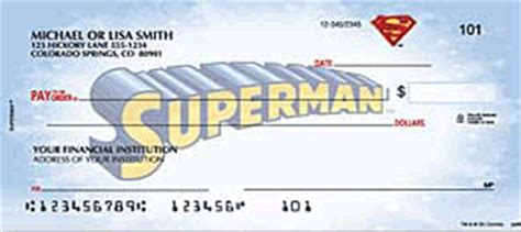 Advantage Background Check Fargo Superman Checks Buy Discount Superman Bank Checks