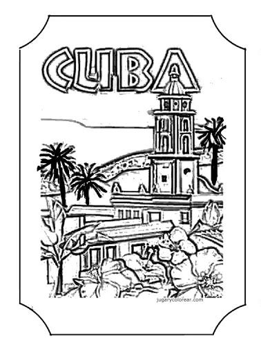 Cuba Coloring Pages free cuba coloring pages