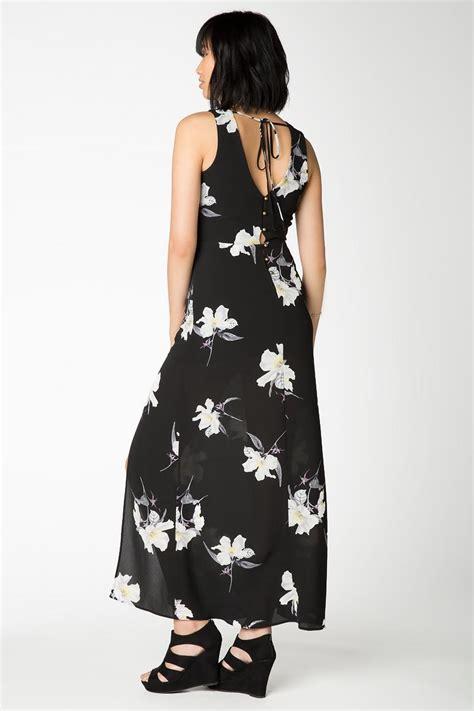 Maxi Dress Fiona black fiona floral maxi dress s