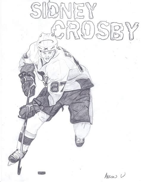 sidney crosby coloring pages printable coloring pages