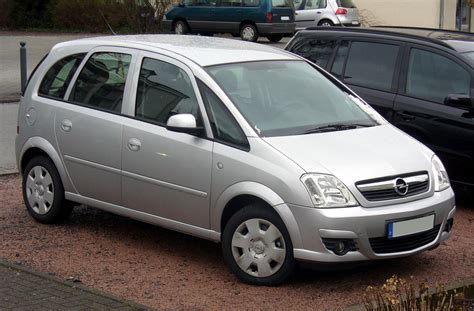 opel meriva 1 6 16v technical details history photos on