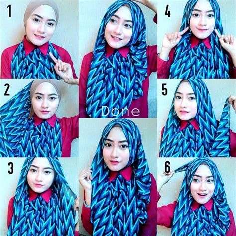 tutorial hijab pasmina super simple tutorial hijab pashmina simple untuk kuliah buat kamu