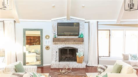 wall mount tv hide wires fireplace how to mount a tv a brick fireplace and hide the