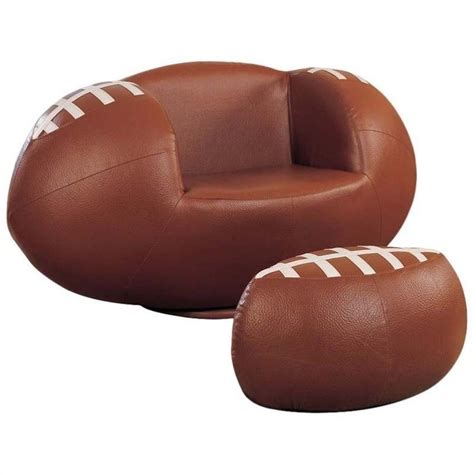 Features Football Swivel Chair