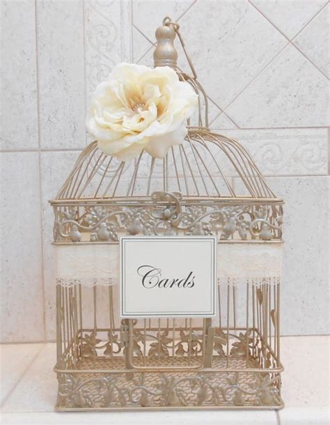 Ideas For Gift Card Holders For Weddings - best 25 birdcage card holders ideas on pinterest girl wedding guest ideas wedding