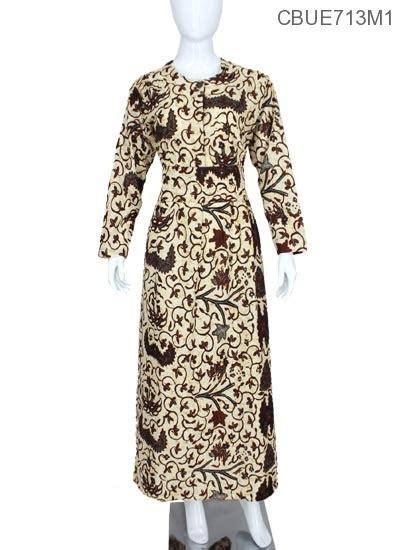 gamis sogan motif klasik gamis batik murah batikunikcom