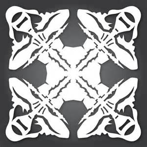 wars snowflake templates free 51 free paper snowflake templates wars style