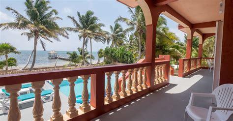 2 bedroom beachfront villa for sale ambergris caye