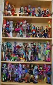 monster monster doll collection