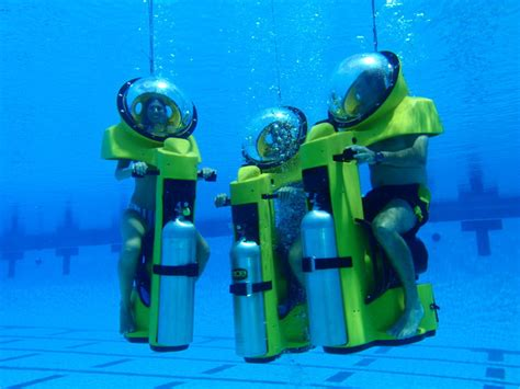 water scooter curacao hydrobob is an underwater scooter ride