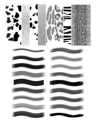 tiger pattern brush photoshop dh animal coat pattern photoshop brush download