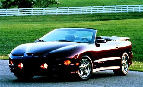 Pontiac Firebird 2000 by Pontiac Firebird Convertible 2000 On Motoimg