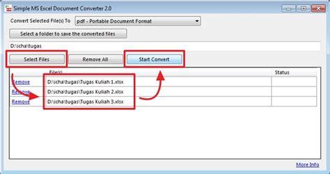 format excel ke cara mudah mengconvert file excel ke berbagai format