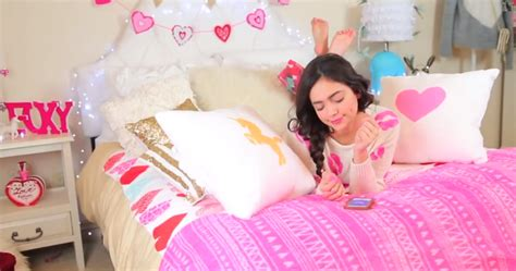 Bethany Mota Room Tour by This Makes Half A Million A Year Just By Shopping