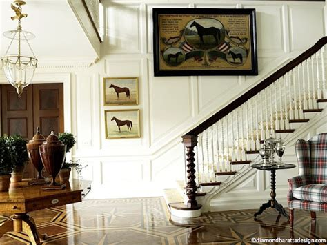 equestrian style interior design for the home