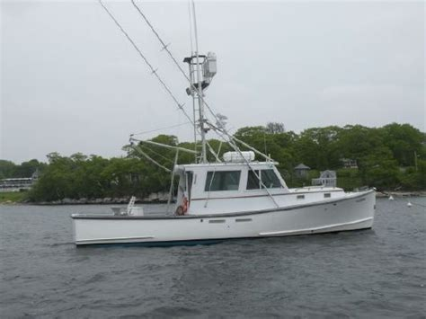 downeast sport fishing boats 1987 holland downeast style sport fish boats yachts for sale