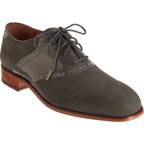 saddle shoes florsheim by duckie brown saddle shoe in gray for