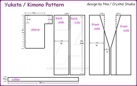kimono pattern cutting yukata kimono pattern by crystal studio on deviantart
