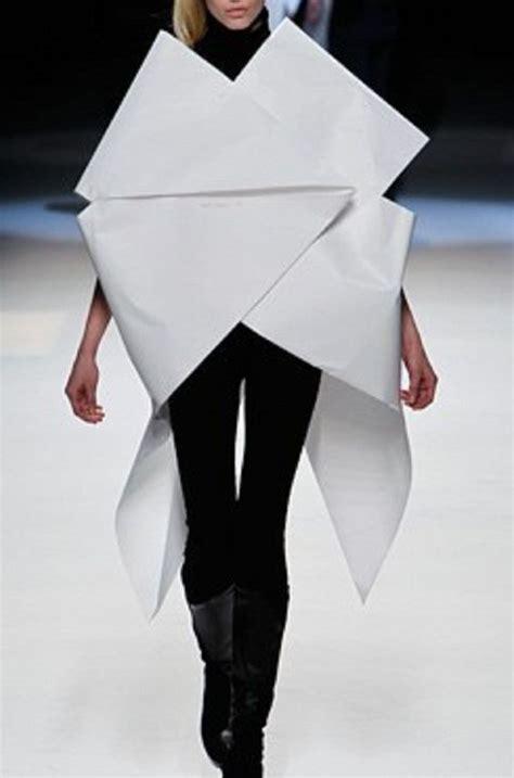 Issey Miyake Origami - issey miyake sculptural fashion and origami dress on