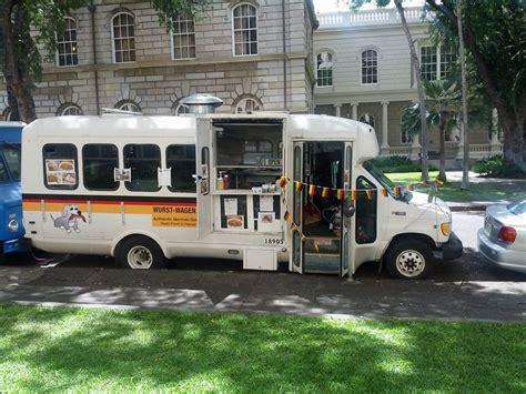 currywurst wagen wurst wagen honolulu food trucks roaming hunger