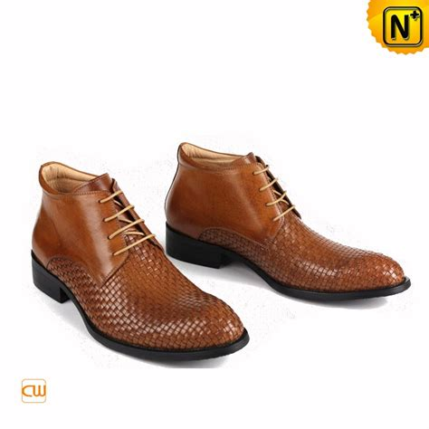 mens dress boots mens dress ankle boots leather brown cw763390