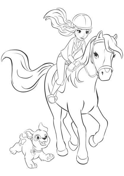 coloring pages of the name andrea lego friends pferde ausmalbilder 855 malvorlage lego