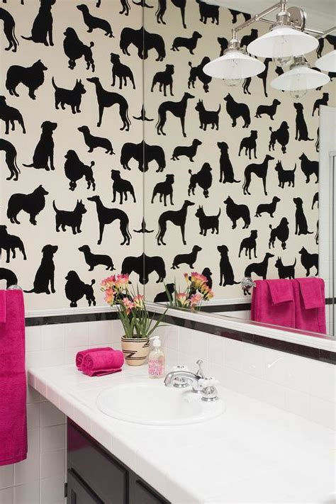 pink and black home decor pink and black bathroom bathroom with madison humphrey dog