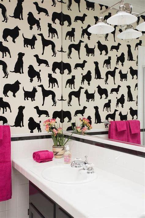pink and black bathroom decor pink and black bathroom bathroom with madison humphrey dog