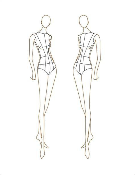 Fashion Figure Sketch Templates