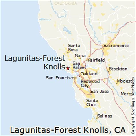 forest city california map best places to live in lagunitas forest knolls california