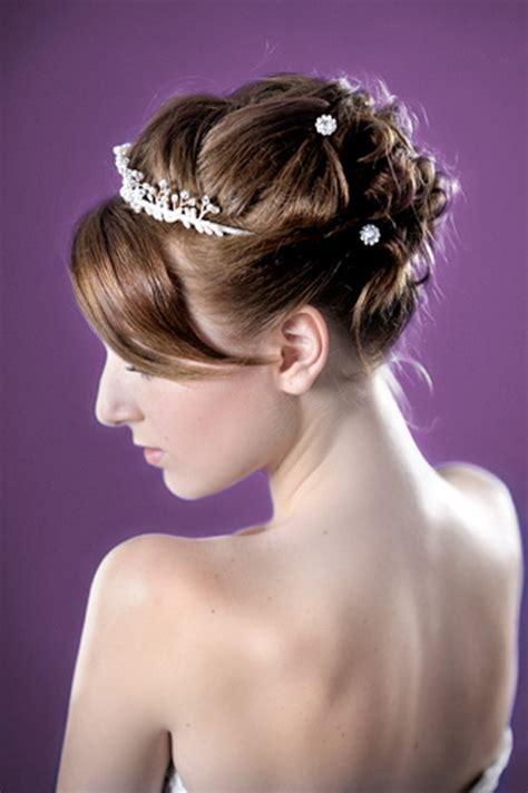 Hochsteckfrisuren Hochzeit Kurze Haare by Hochzeitsfrisuren F 252 R Kurze Haare