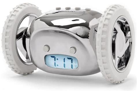 Clocky Alarm Clock Runs And Hides When You Dont Up by Clocky Alarm Clock That Runs Away To Get You Up