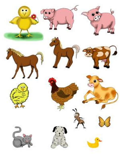 Free Printable Farm Animals