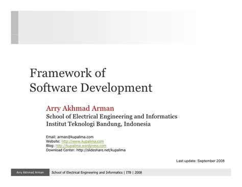 design framework in software engineering software engineering 02 framework
