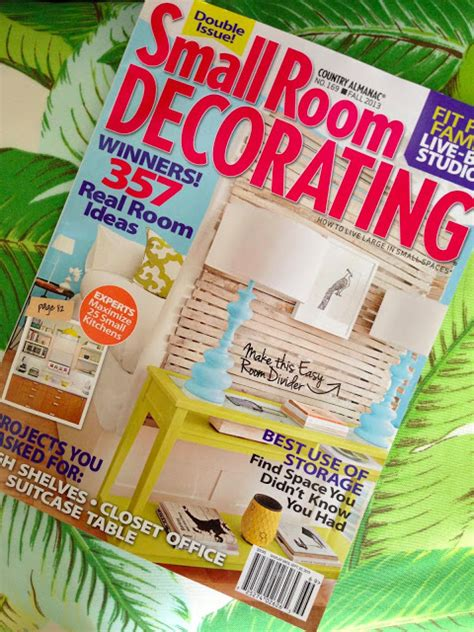 Small Space Decorating Magazine by Sanity Fair Small Room Decorating Magazine