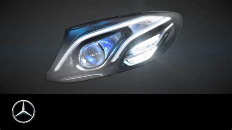 headlamps    mercedes benz  class multibeam led